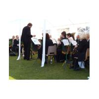 Chris Gutteridge conducting HCB - Glebe House School Fête - 16th May, 2010 - Photo Jan Foster