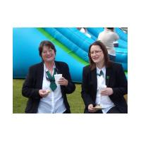 Marion Shaw and Cathy Brooke - Glebe House School Fête - 16th May, 2010 - Photo Jan Foster