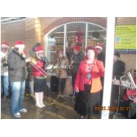 Christmas Carols at Sainsbury's, Hunstanton collecting for the Mayor's Fund - December 19th, 2009 - Photo Angie and Darren Burrows