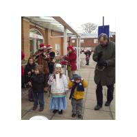 Raising money for the Hunstanton Town Hall basement Youth Project 