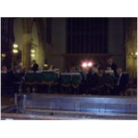 Preparing for a concert in St. Nicholas Chapel, King's Lynn in aid of the True's Yard, Museum - September 26th, 2009